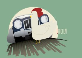 Chicken by the-dumb-waiter