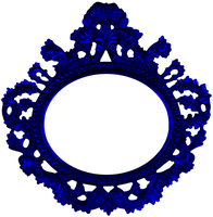 Dark Blue Frame png by sophia-T