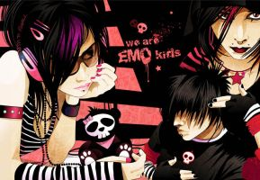 we are emo kids by Magrad