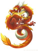 Chinese Dragon by Dinkysaurus