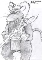Tak the evil Rat Alchemist by KrystallWolvelt