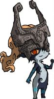 WW Midna by Mast3r-sword