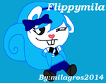 Happy Tree Friends Super Flippymila La Ardilla Vol by Milagros2014FlippyS2