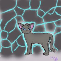 Jaypaw at the moonpool by cali-cat