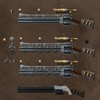 Sniper rifle steampunked by dima-sharak