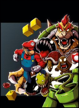 Supermario group by Anny-D
