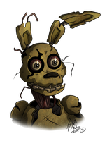 Springtrap by Retromissile