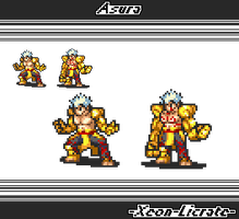 Fire Emblem: Asura's Wrath by Pixelated-Dude