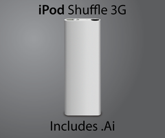 Vector iPod shuffle 3G by Andy202