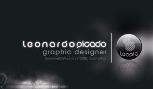 business card by leopic