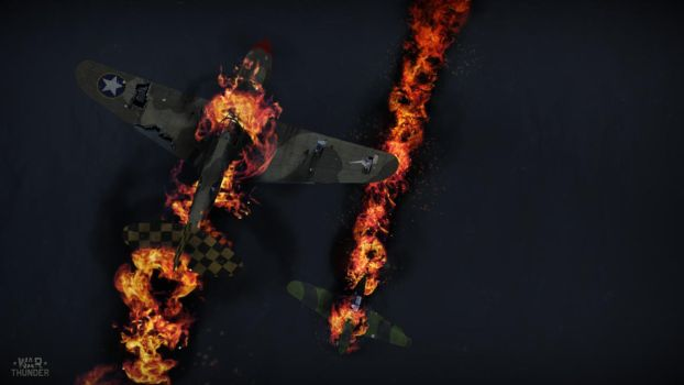 War Thunder: Flames of Aviation by PurplePhantom104