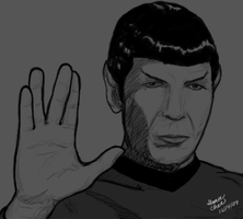 Spock by kitchan333