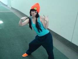PaRappa the Rapper - comikaze 2014 by antshadow13