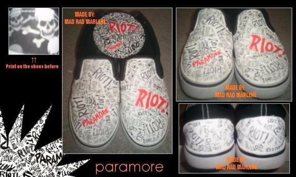Paramore Slip-Ons by XMCRX