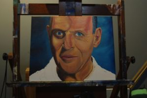 WIP Anthony Hopkins as Hannibal Lecter by miz-mezzy