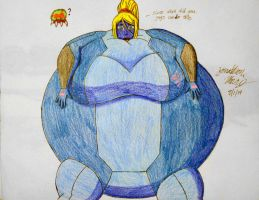 [Request] Blueberry Samus Aran by JAM4077