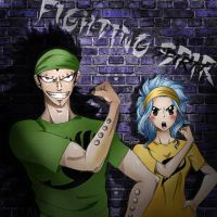 Fighting Spirit! (coloring!) by OrdinaryOrganika