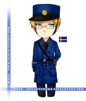 APH - Sverige :for keyring?: by miyaotohime