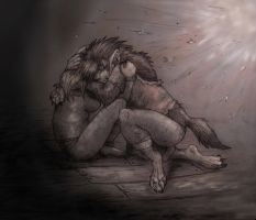 Wolf Blood - Story Art by LilleahWest