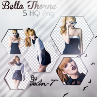 Bella Thorne Png Pack by Selin-T