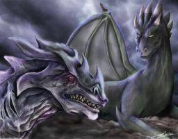 Dragones by diegora