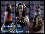 Sialynn, The Celestial Nymph, Original Cosplay by Arexandria