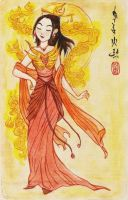 Daughter of the FireLord by Isaia