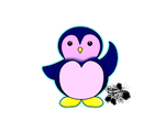 Cute Penguin for pinguino777! by CuteyCreations