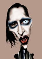 Marilyn Manson 2 by Steveroberts