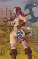 Red Sonja by ErikHodson