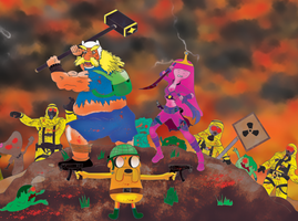 Adventure Time: NUKED! by Hrdcoreartist