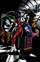 Joker and Harley by FATRATKING