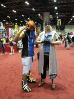 Megacon 2014: Neku and Snow by Oblivion-Evil