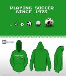 8-Bit Design Challenge - Playing Soccer since 1973 by mantarosan