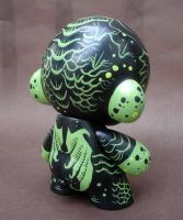 Cthulhu Munny back by missmonster
