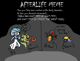 Afterlife Meme :TeamThriller and TeamIllusion: by MarietheDragonwolf