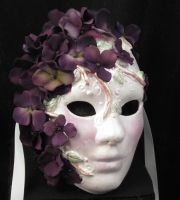 Lady Hydrangea Mask by EffigyMasks