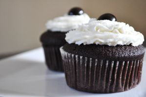 Chocolate Nutella Cupcakes by TantalizedBaker