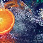 frozen orange by Orwald