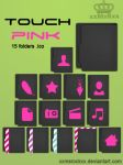 Folders Touch Pink by xxmsrockxx