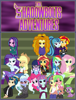 The Shadowbolts Adventures Cover by BootsySlickmane