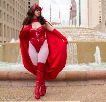 Scarlet Witch Skyline by HollyGloha