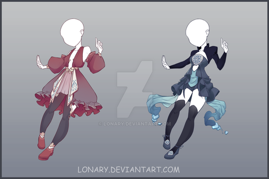 [Close] Design adopt_166-167 by Lonary