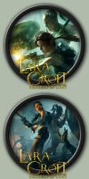 Lara Croft And The Guardian Of Light Icons by kodiak-caine