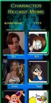 Characters Recast: PPPE/Monkeybone by Groovy-Gecko