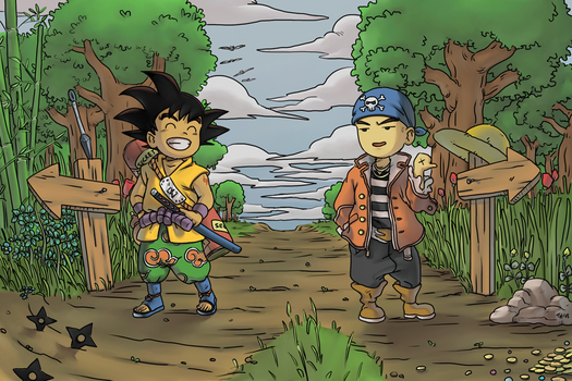 Dragon Ball Explores New World by tsim