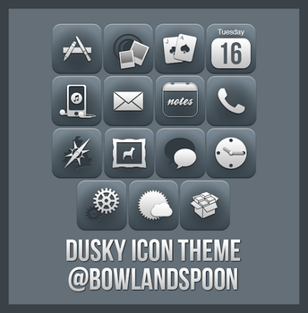 Dusky Icons Theme by bowlandspoon