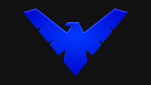 Nightwing Symbol by Yurtigo