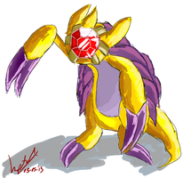 Starslash - Pokefusion. by Retro-Death