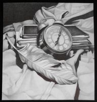 Clock still life by GnomesAndCookies